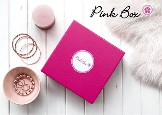 Meine Lieblingsbox Pink Box 10 € Rabatt