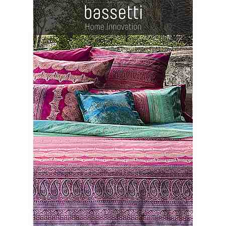 Moderne und hochwertige Heimtextilien von Bassetti für ein gemütliches zu Hause - von Bettwäsche & Bettlaken über Kissen & Tagesdecken bis zu Tischdecken & Servietten!