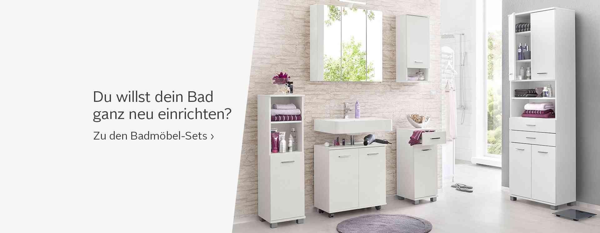 Badezimmerm bel kaufen badezimmer im set einzeln otto for Badezimmermobel hersteller