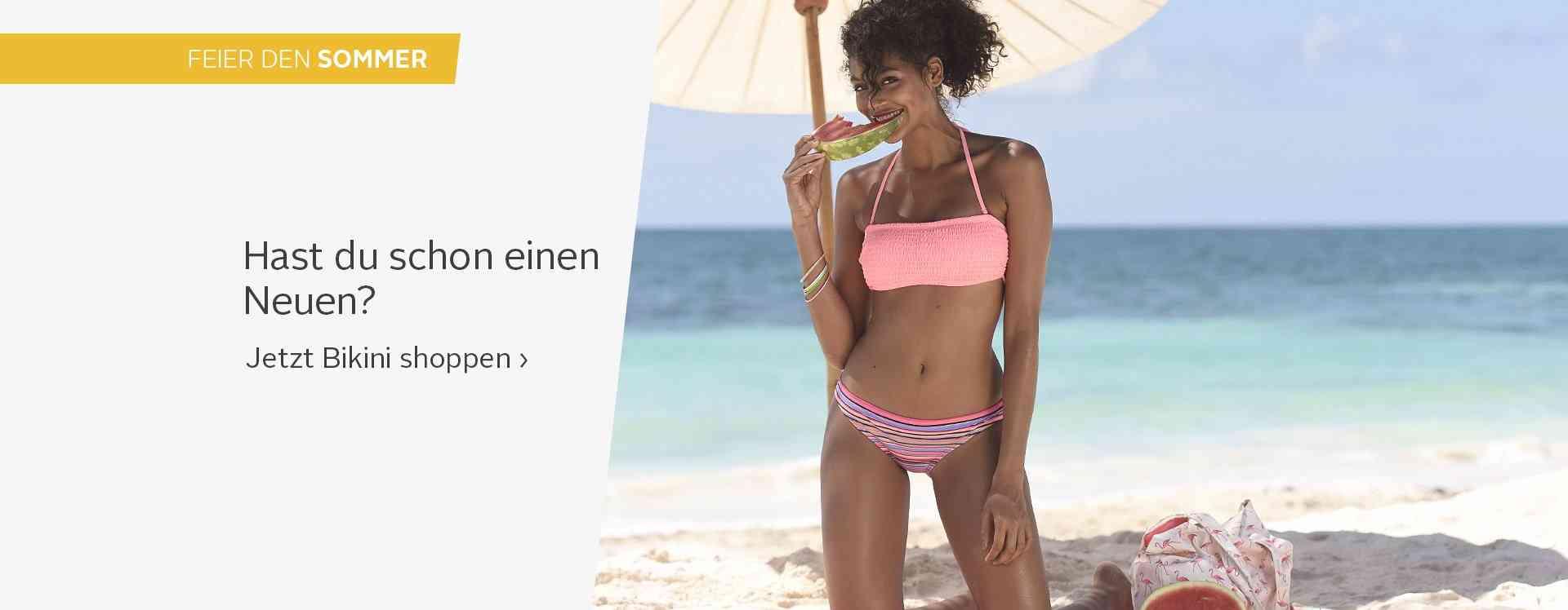 Bikinis bei Otto online bestellen: Individuelle Bademode in aktuellen Formen und Farben. Ob Bügel-Bikinis in großen Cups oder Push-up-Bikinis für kleine Cups - Hier wird Jede fündig.