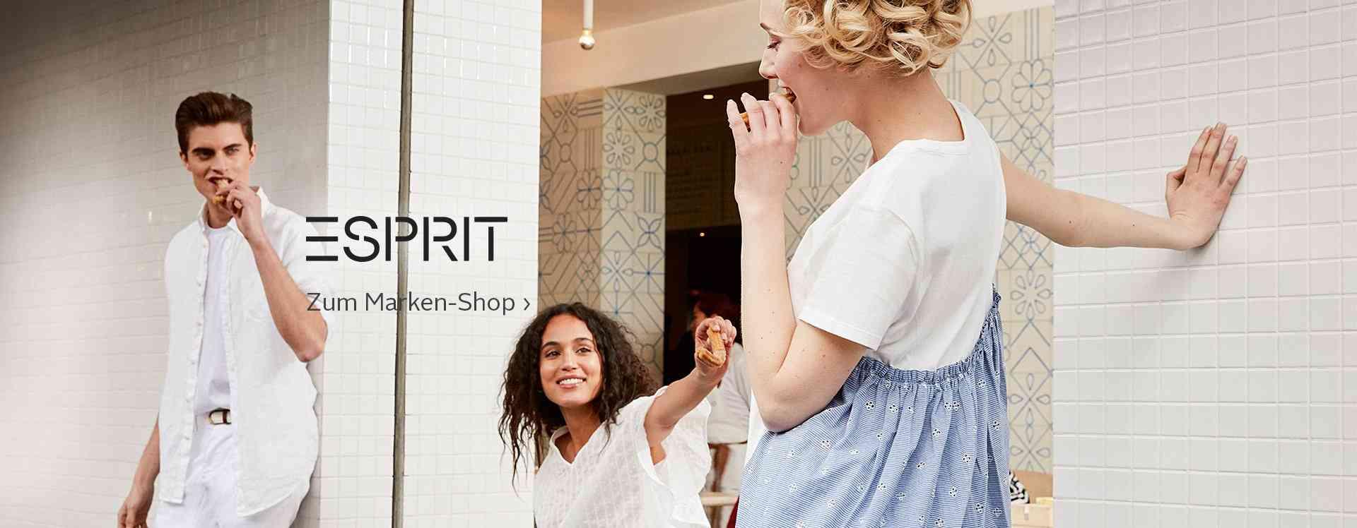 Damenmode von Esprit versprüht mit ganz persönlichem Charme Lebensfreude pur. Bequeme und schöne Basics, coole Trend-Outfits und tolle Accessoires für jeden Tag