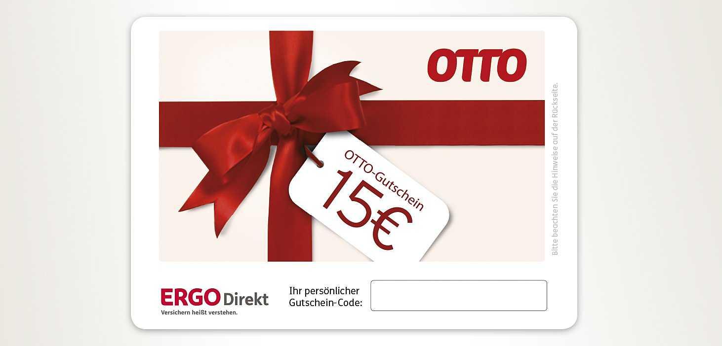 ERGO Direkt OTTO Einkaufsgutschein