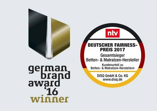 schlaraffia matratzen brand award 2016