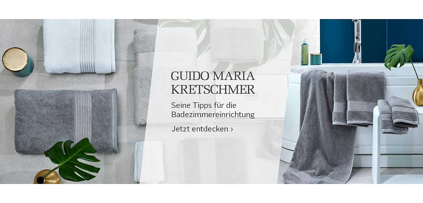 Badezimmertrends von Guido Maria kretschmer