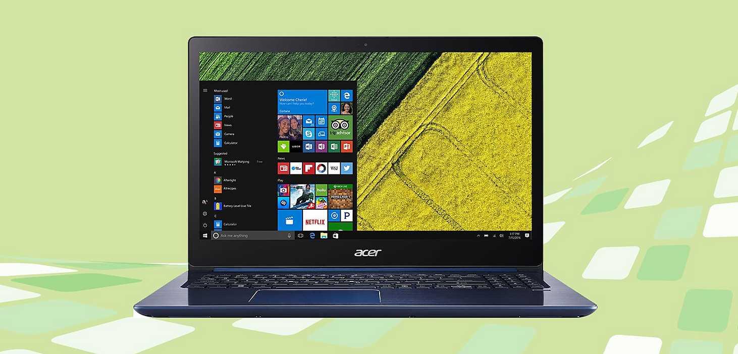Acer Swift Notebook Laptop