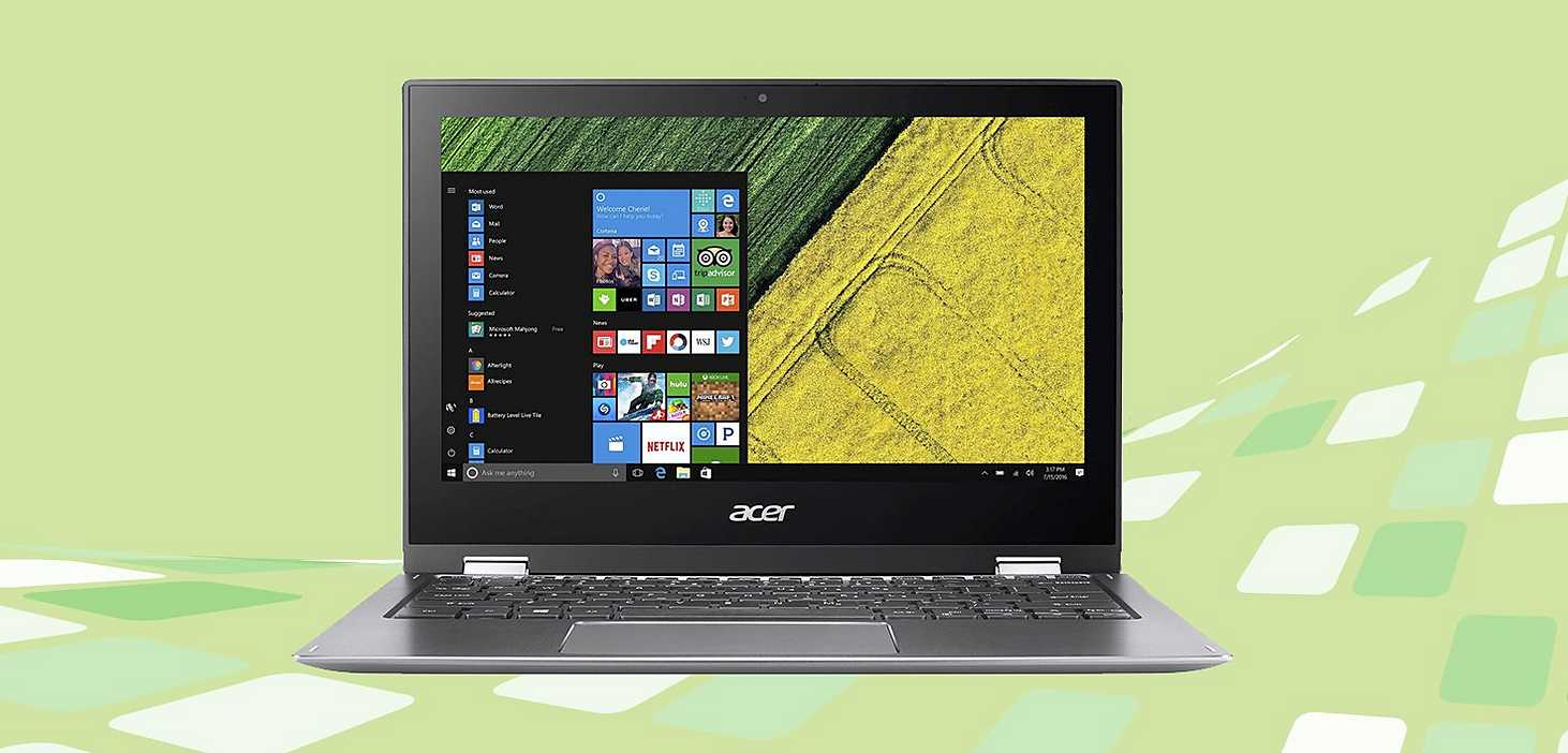 Acer Spin Notebook Laptop