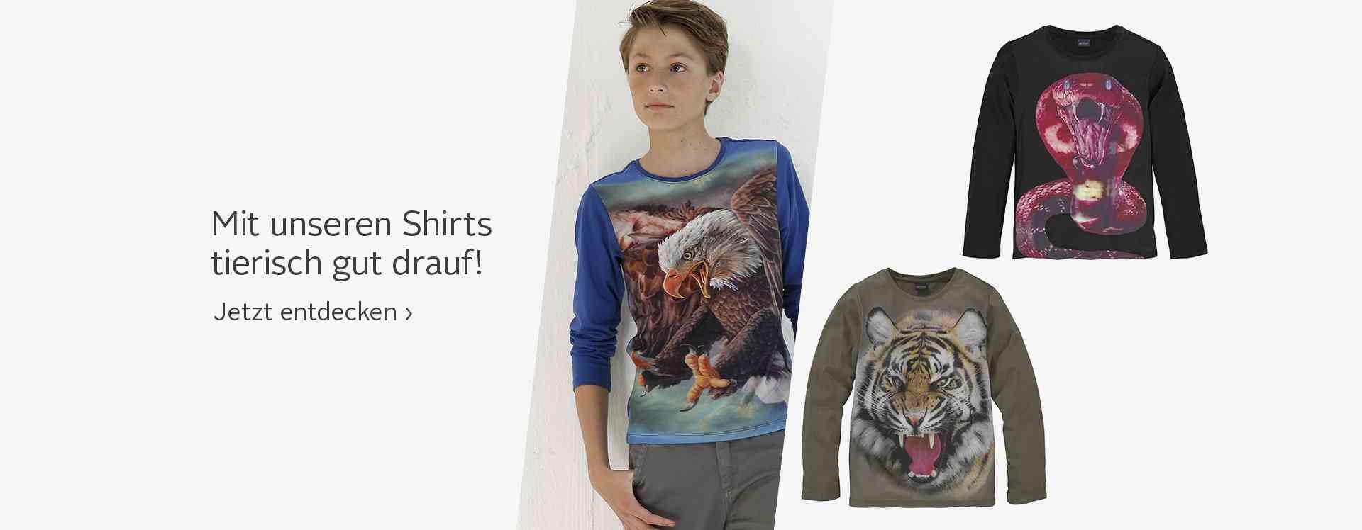 kindermode - jungen - shirts