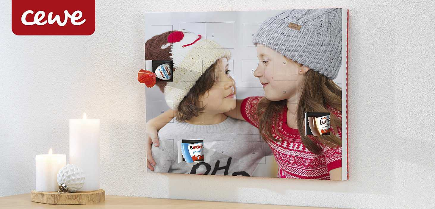 OTTO Fotoservice CEWE FOTOGESCHENKE Adventskalender