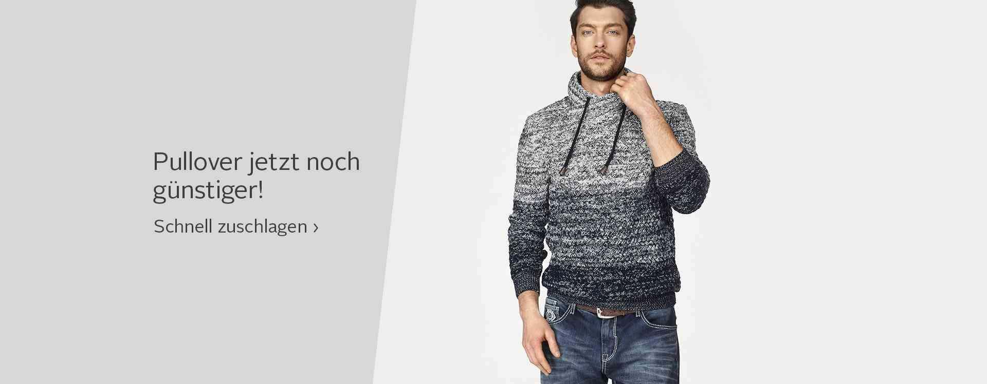 Pullover-Sale. Jetzt sparen.