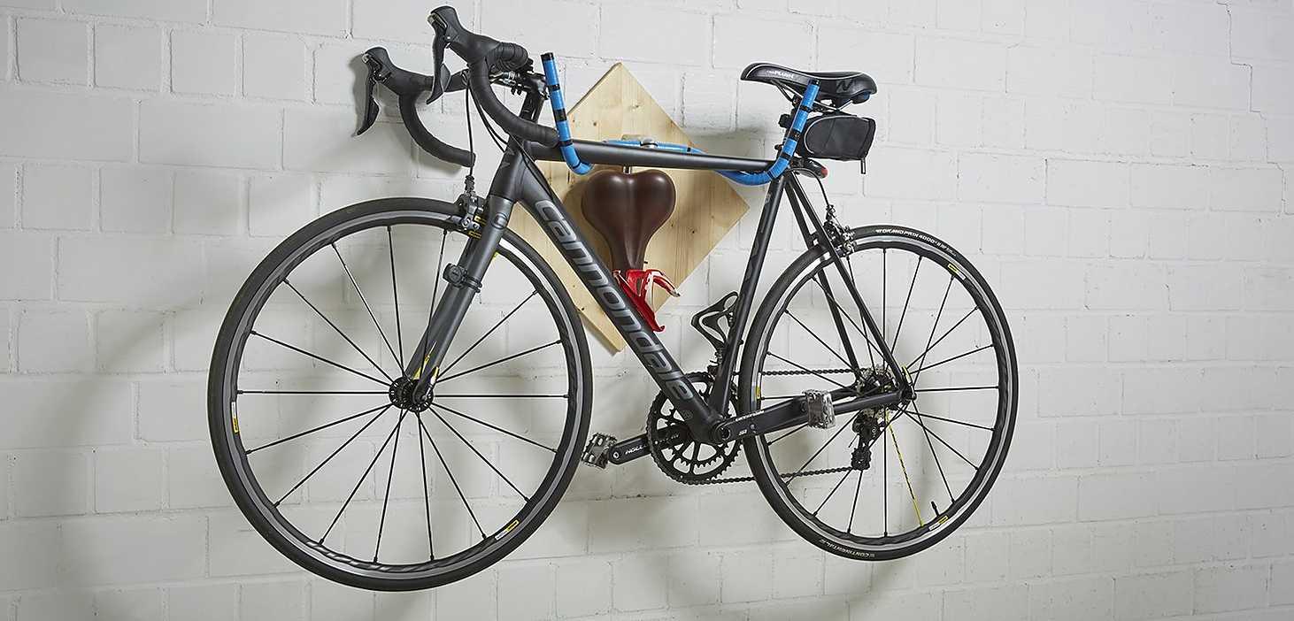 DIY Fahrradhalterung