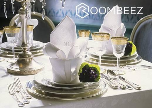 Tisch eindecken Roombeez