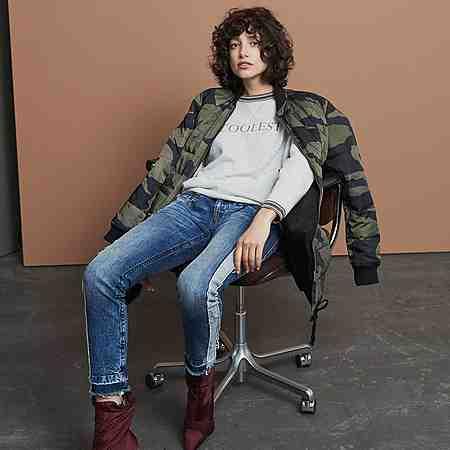 Damen: Джинсы : Slim-fit-Jeans