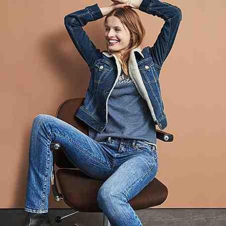 Damen: Джинсы : Straight-Jeans