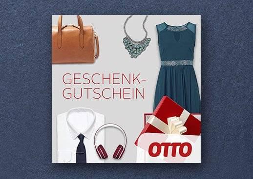 Geschenkgutscheine von 10 bis 250 Euro bei OTTO - immer eine Gute Wahl. OTTO.