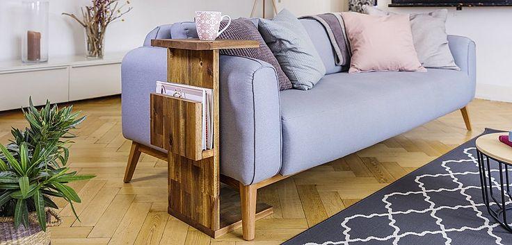 DIY Couch-Beistelltisch