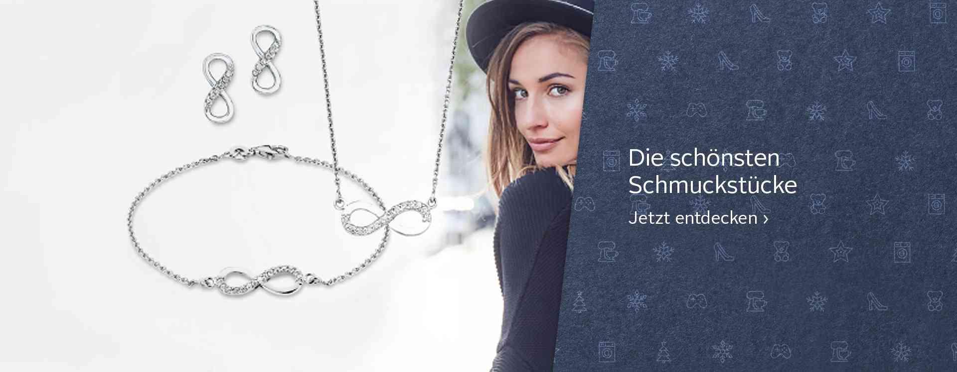 Halsketten, Armbänder, Ohrringe und Fingerringe – Eines steht fest: Ein Outfit wird doch erst durch den passenden Schmuck zum absoluten Fashion Statement!