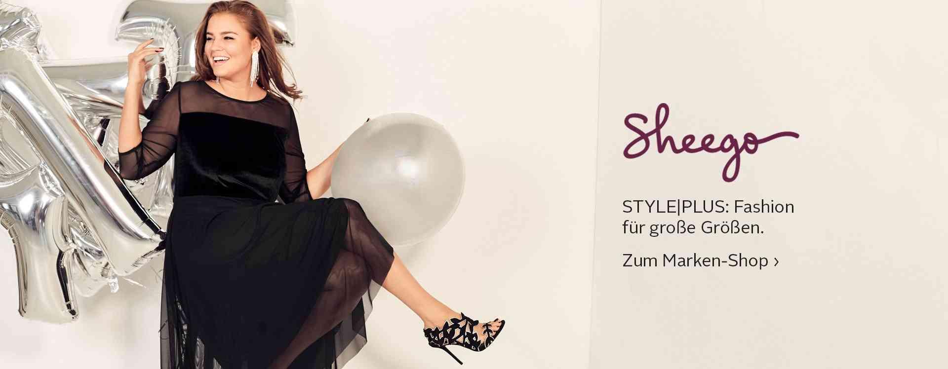 Sheego Markenshop - Trendige Damenmode in großen Größen. Jetzt entdecken!