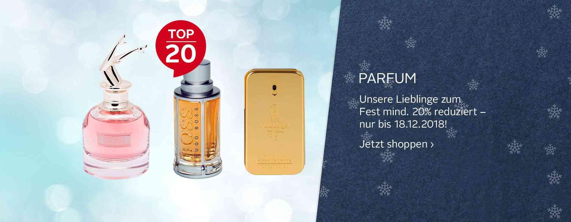 Entdecken Sie unsere große Auswahl verschiedener Parfums und Duft Sets für Mann und Frau.