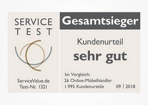 Deutschlands kundenorientiertester Online-Möbelhändler