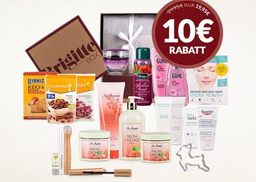 Shopping&more Brigitte-Box 10 Euro Rabatt Januar 2018