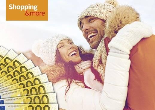 Shopping&more Gewinnspiel 8.000€ in bar gewinnen und gratis Garantiegewinne