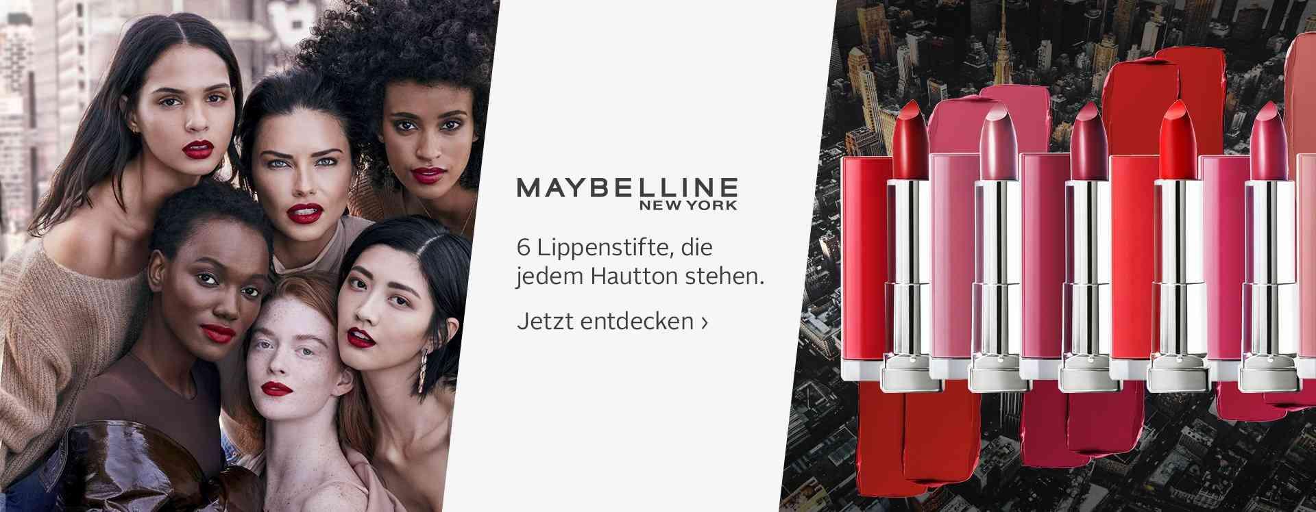 Zaubern Sie sinnliche und verführerische Lippen mit unserer Auswahl aus dem Bereich Lippen Make Up.