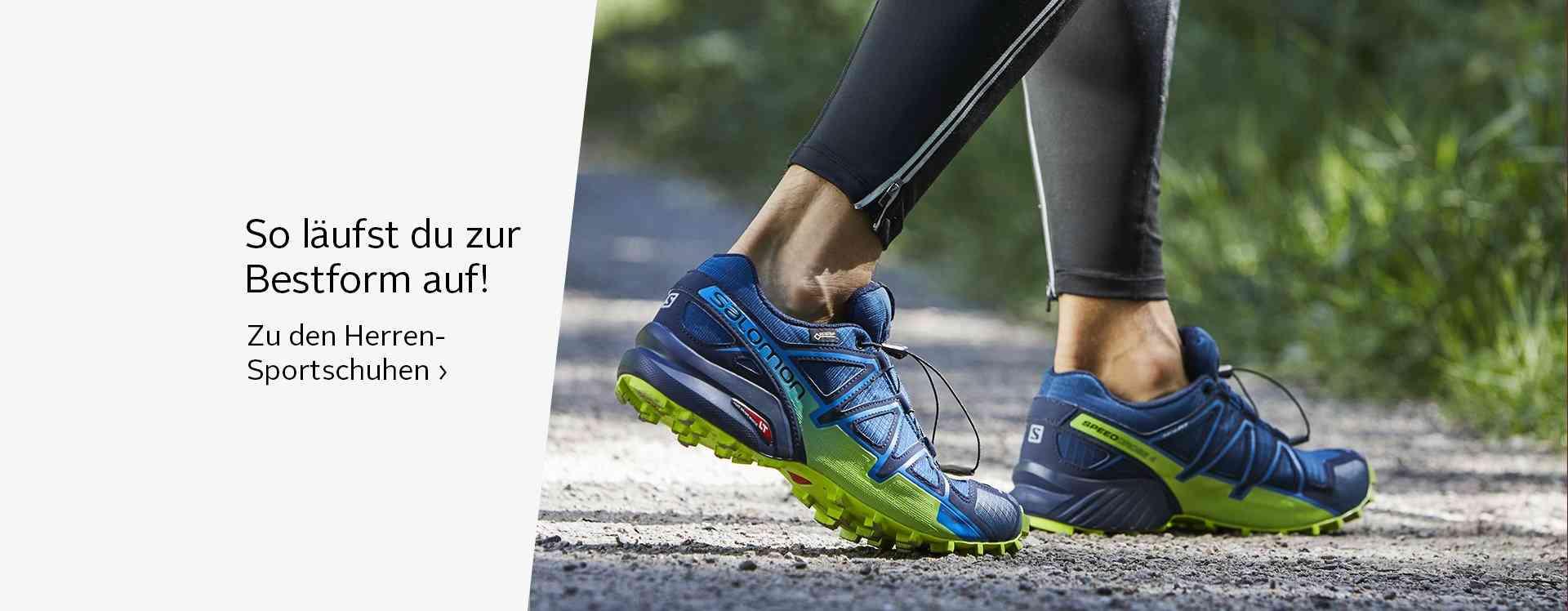 Sportschuhe: gesundes und sicheres Laufen in Trainingsschuhen от  attraktiven Sportmarken.