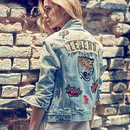 Damen: Jacken: Jeansjacken