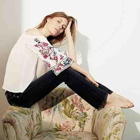 Damen: Jeans: Straight-Jeans
