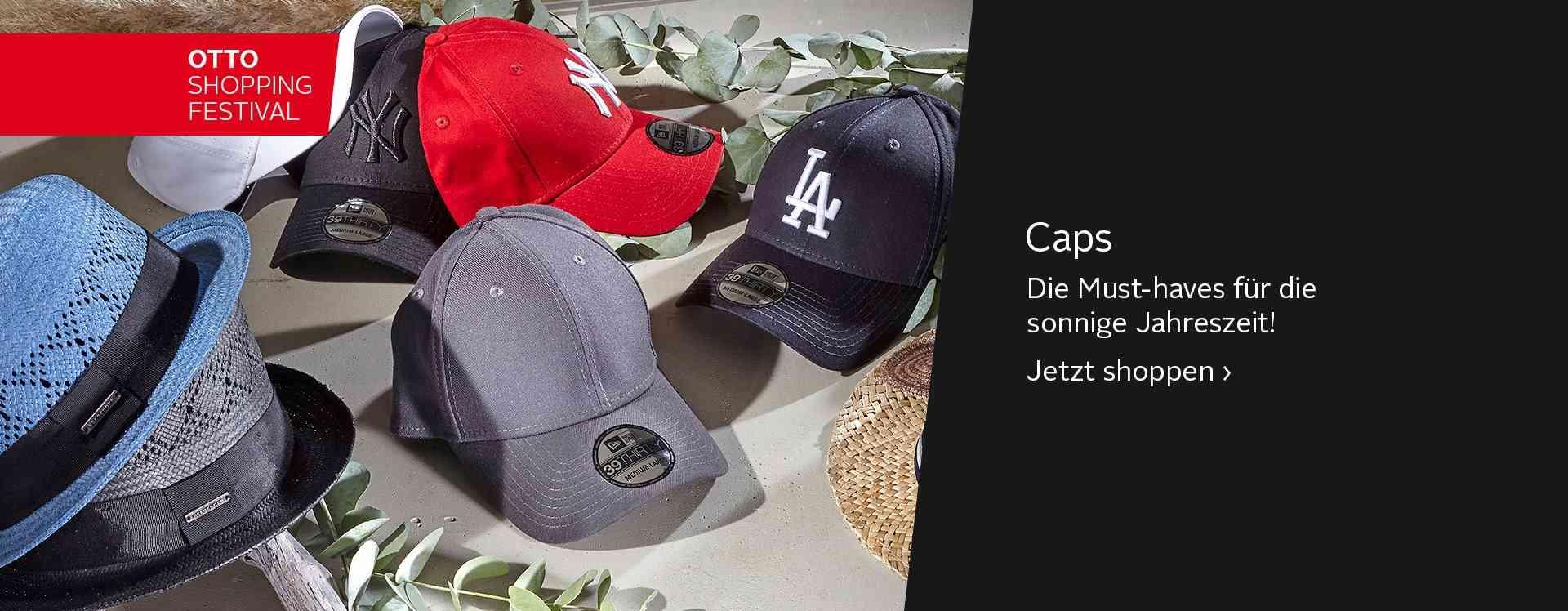 Lässig, sportlich, stylisch: Für jeden Look die passende Cap.