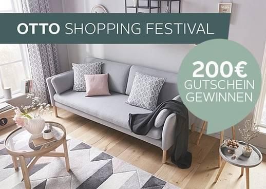gewinnspiel otto shopping festival gutschein