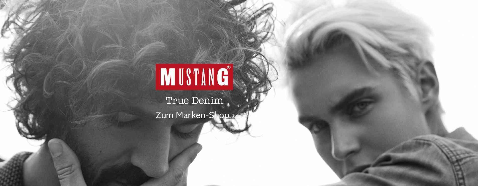 Zur Marke Mustang.