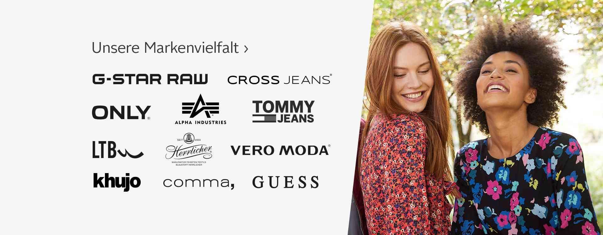 Damenmode verschiedener Marken jetzt entdecken!