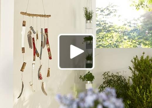 Windspiel Holz DIY
