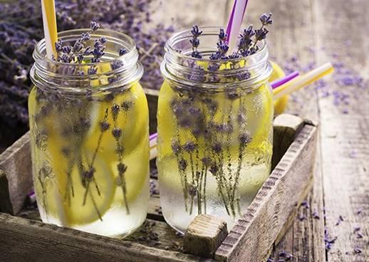 Rezept Lavendel Limonade