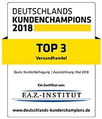 Top 3 Deutschlands Kundenchampions