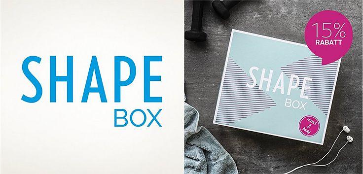 Meine neue SHAPE Box 15% Rabatt
