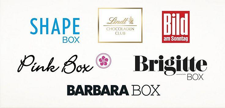 BRIGITTE BOX BARBARA BOX Pink Box Genießer Box Lindt Rabatt