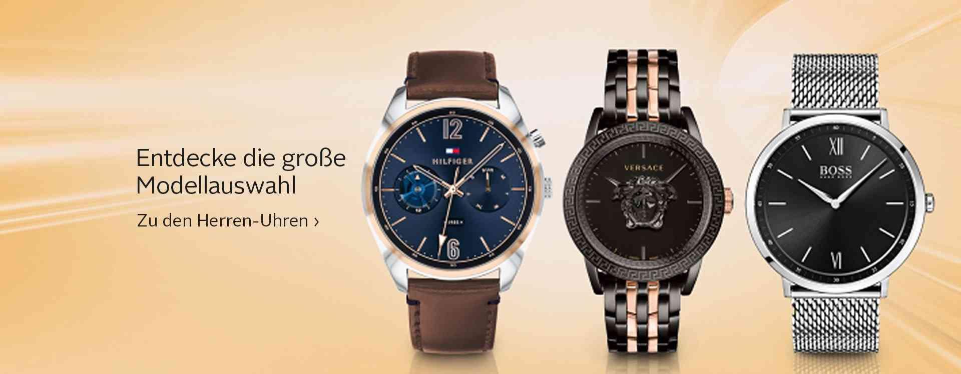 Mit diesen eleganten, klassischen oder sportlichen Uhren behalten sie immer die Zeit im Auge.