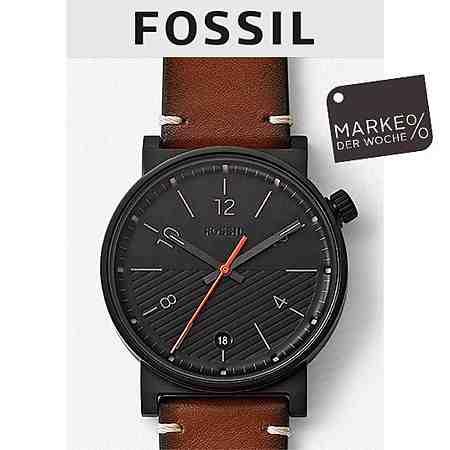 Marke der Woche Fossil. Ausgewählte Artikel mind. 20% reduziert - nur bis 19.02.