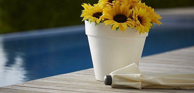 DIY Sonnenschirmständer