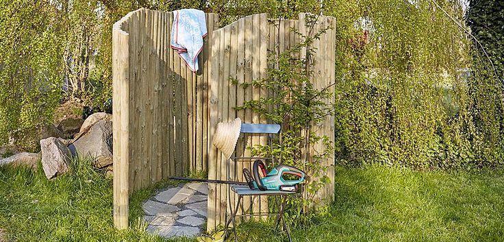 DIY Gartendusche