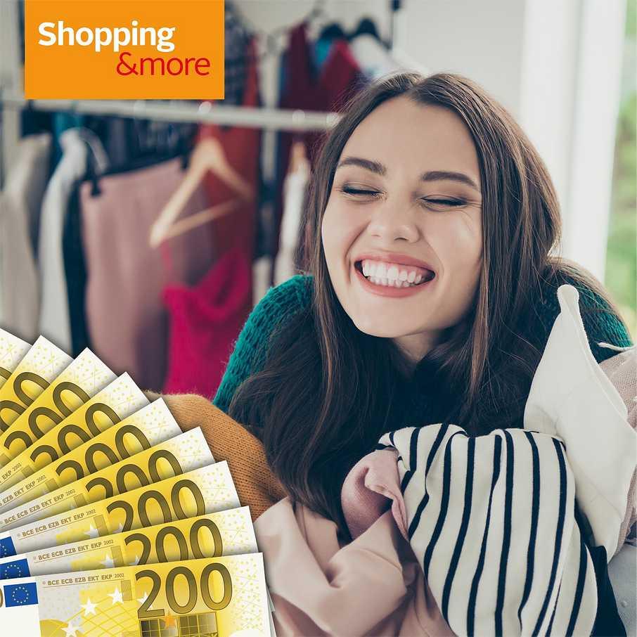 Shopping&more Gewinnspiel Gewinne eine Stilberatung & 3.000€ Shopping-Budget, attraktive Garantiegewinne