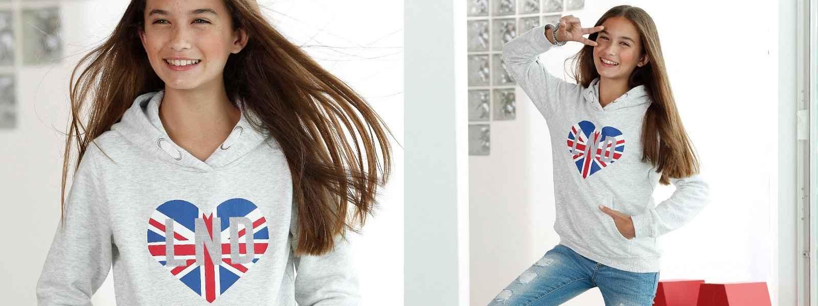 Mädchen Sweatshirts & Sweatjacken