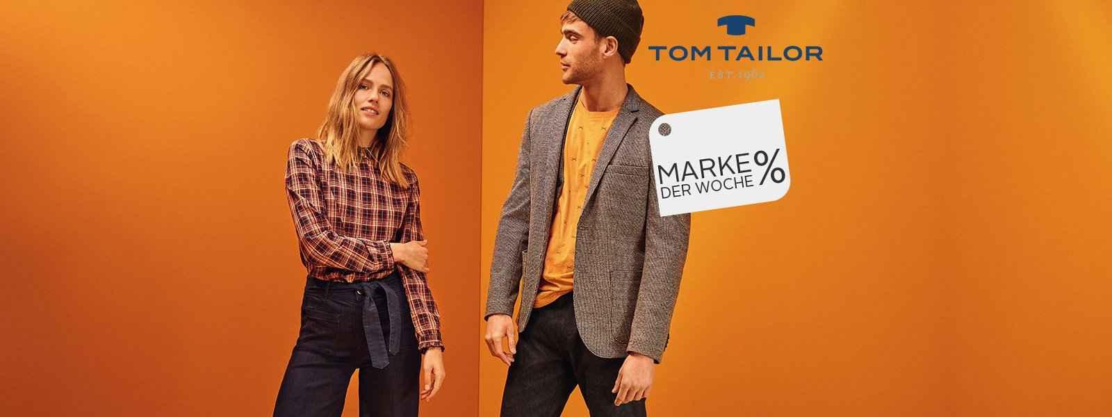 Marke der Woche: Tom Tailor
