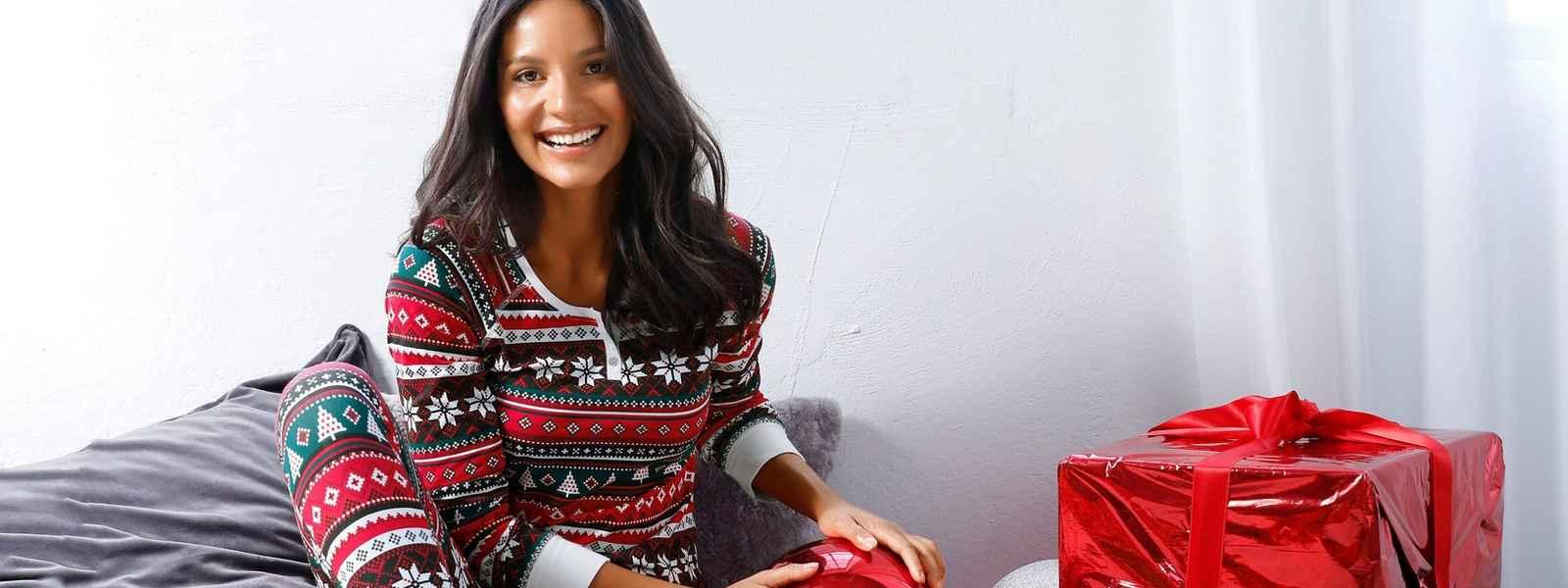 Weihnachts-Wäsche