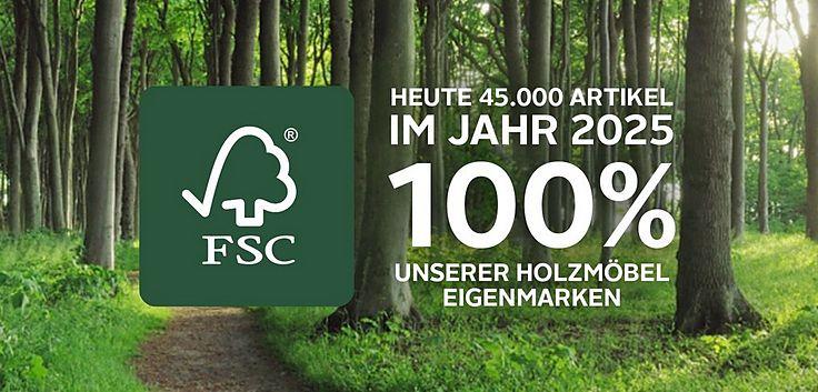 FSC-Holz, Nachhhaltige Möbel