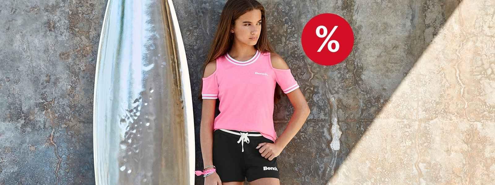 % Mädchen Shirts