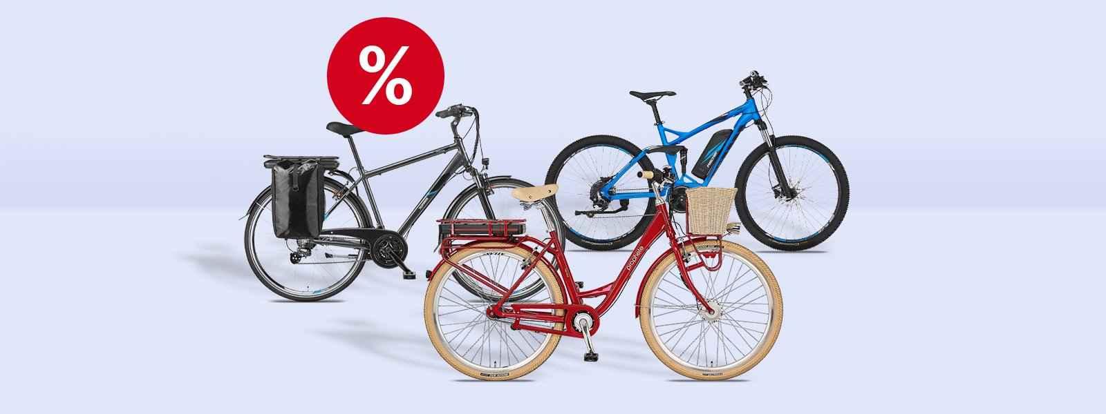 % Fahrräder