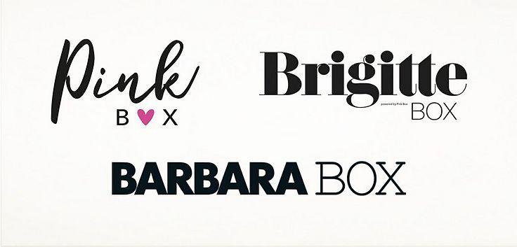 BRIGITTE BOX BARBARA BOX Pink Box Rabatt